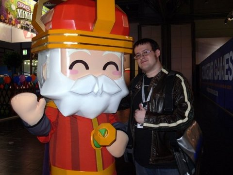Me, in happier times. That's me on the right