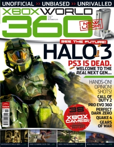 Xbox World, the magazine that took me under its wings and helped me plonk my foot in the door. God bless it