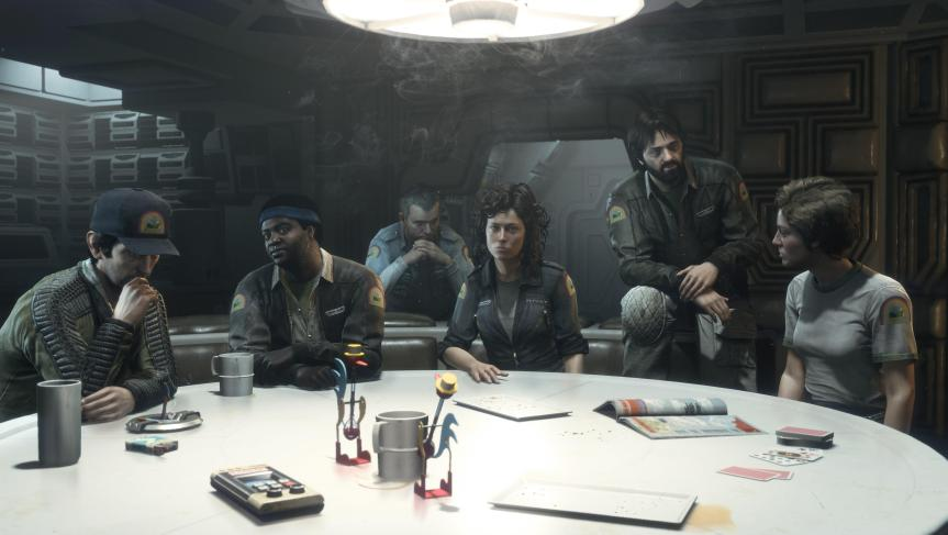 """Shit, I bought Alien Isolation after launch and now I can't get the exclusive pre-order DLC featuring the exclusive crew. BOO HOO HOO HOO oh wait, there it is as paid DLC"""
