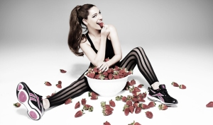 I googled 'PR' and got this image of Kelly Brook eating strawberries. I'm not sure if that means anything but if you think you can get a metaphor out of it then knock yourself out