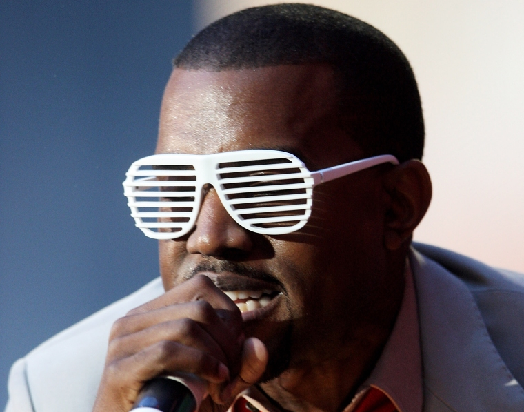 Aye, you might struggle with it a wee bit, Yeezus