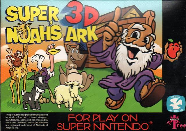 If anyone's interested, I can write up such a list: Super Noah's Ark 3D is a highlight