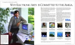 EA Amiga ad