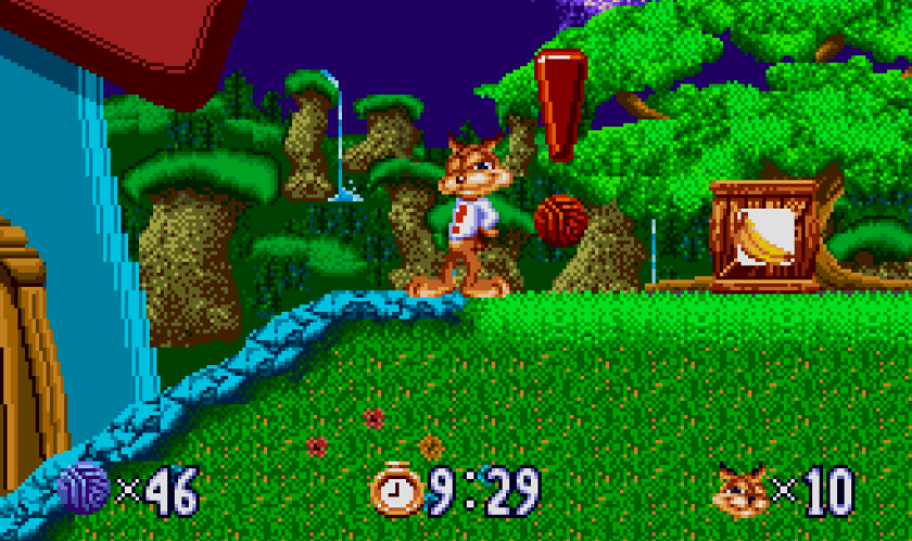 """Bubsy The Bobcat - """"Disappointed"""""""