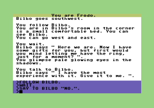 The Lord Of The Rings: Game One (C64 version)