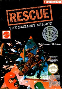 If you aren't familiar with the brilliant Rescue: The Embassy Mission on NES, you soon will be