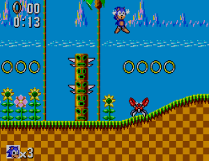 Sonic The Hedgehog (Master System version)