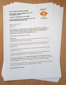 The leaked Sony document: read it in its entirety below