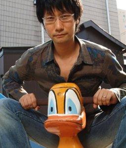 Kojima and duck