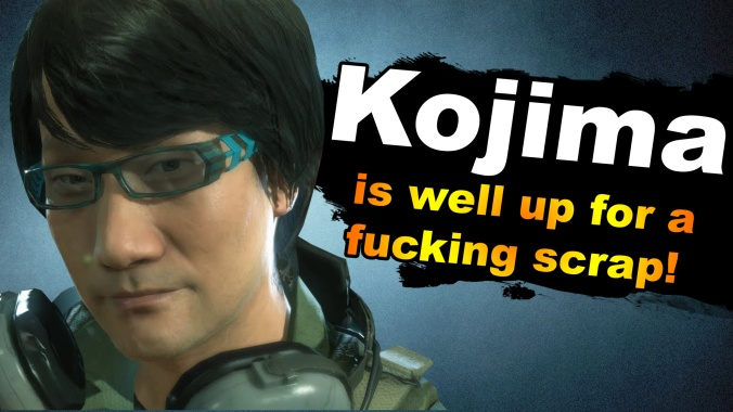 Tired Old Hack - Page 2 Kojima-in-smash