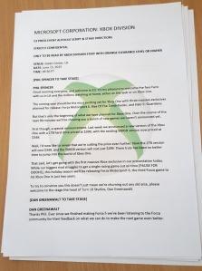 Xbox E3 2015 script