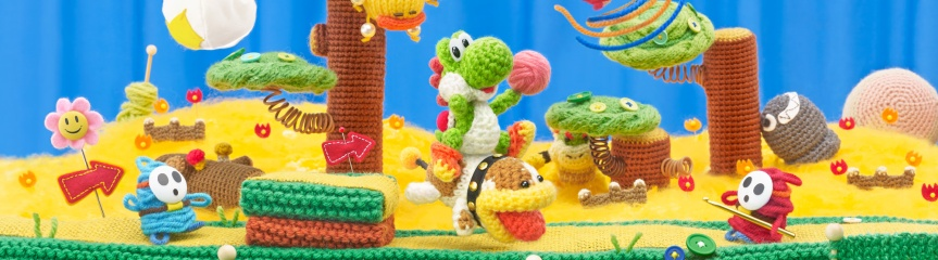 Yoshi's Woolly World amiibo costume gallery