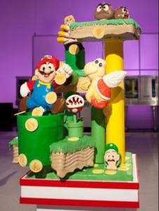 Cake Wars Mario cake