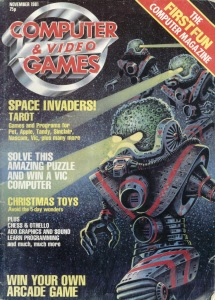One of Games Journalism's first magazines, CVG