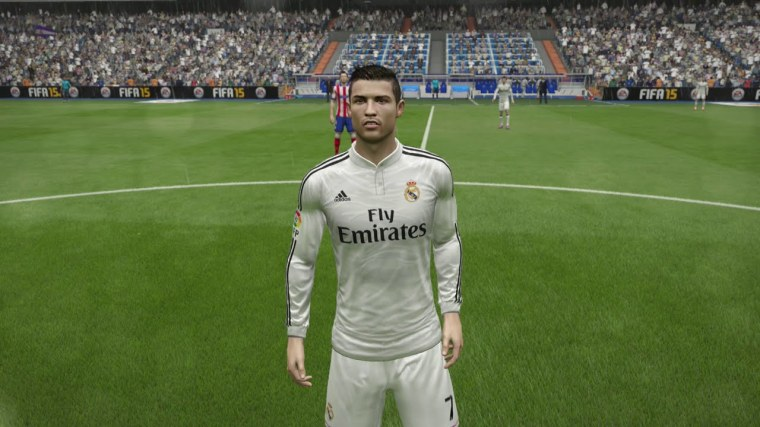 This is FIFA 15. Expect FIFA 16 to... um, offer pretty much the same thing