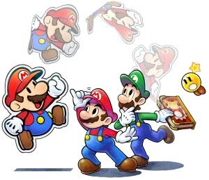 Mario & Luigi Paper Jam artwork