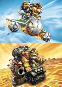 Skylanders Bowser & Donkey Kong
