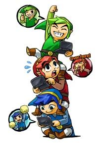 Zelda Tri Force Heroes artwork