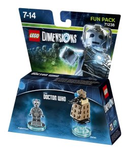 Fun Pack - Cyberman & Dalek