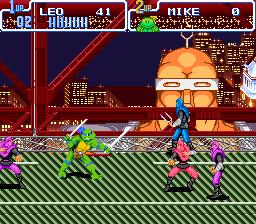 Teenage Mutant Hero Turtles IV - Turtles in Time (E)