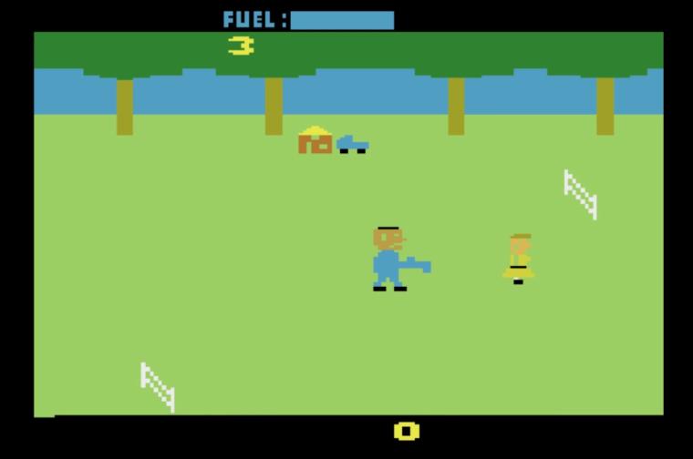 The Texas Chainsaw Massacre Atari 2600