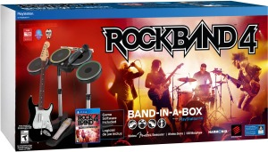 Rock Band 4 in a box