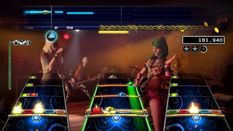 Let's face it: if I told you this was Rock Band 3 and not Rock Band 4, you'd maybe be convinced