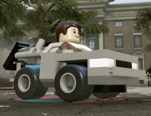 Lego Dimensions DeLorean