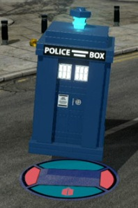 Lego Dimensions Doctor Who Level Pack - TARDIS main pic