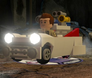 Lego Dimensions Ghostbusters Level Pack - Ecto-1 main pic