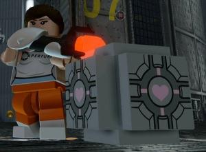 Lego Dimensions Portal 2 Level Pack Companion Cube main pic