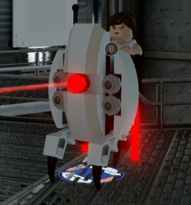 Lego Dimensions Portal 2 Level Pack Sentry Turret main pic
