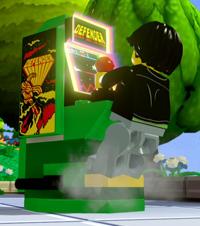 lego dimensions arcade machine
