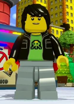 Lego Dimensions Gamer Kid