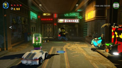 Lego Dimensions Midway Arcade level pack pic 1