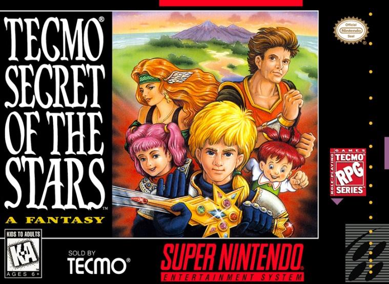 Tecmo Secret Of The Stars