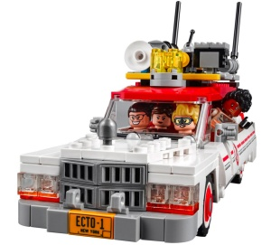 Official Lego Ghostbusters reboot Ecto-1 set