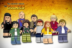 A failed Goonies submission for the Lego Ideas scheme