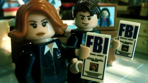 Custom Lego X-Files minifigs