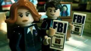 Custom Lego X-Files minifigs