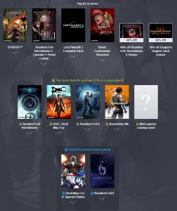 capcom humble bundle