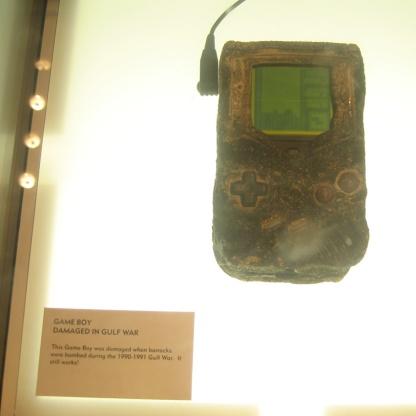 Gulf War Game Boy