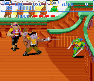 TMNT Turtles In Time