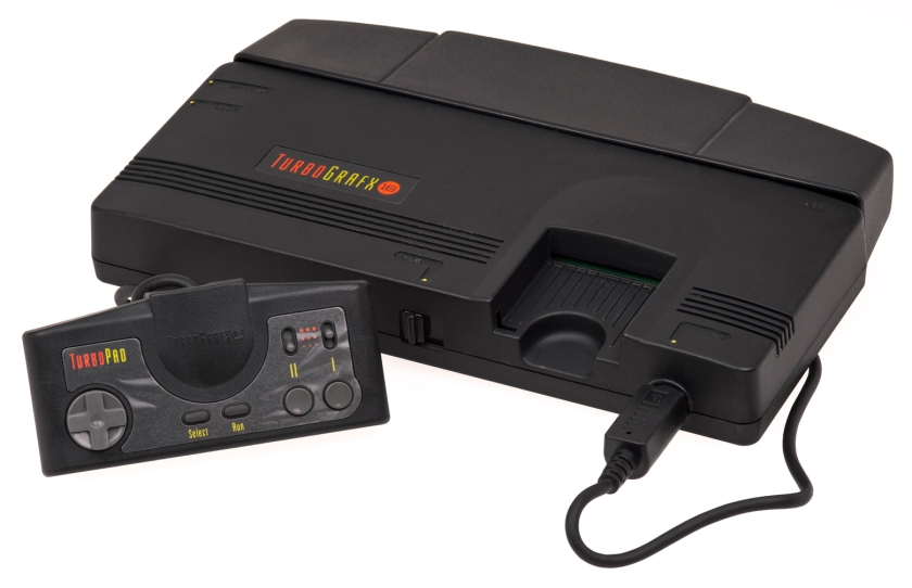 There was also the TurboGrafx-16 but that didn't really do anything in Europe