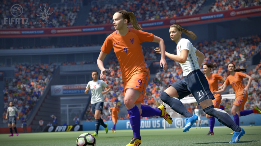 """""""I really love FIFA, so obviously FIFA 17's amazing... but just so people don't think I'm corrupt... um, that hair doesn't look very realistic. Worst game ever, I guess"""""""