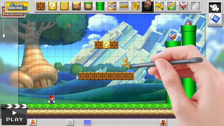 ... Mario level as good as the ones made by Nintendo, Super Mario Maker is