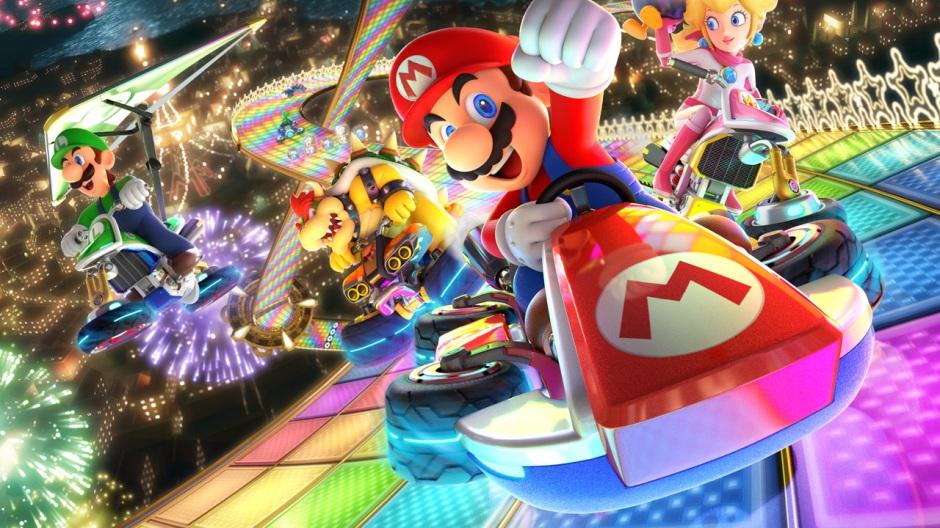 Afbeeldingsresultaat voor Mario Kart 8 Deluxe