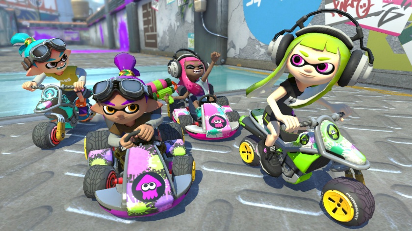 The Inkling Boy and Inkling Girl each have three different colour schemes to choose from