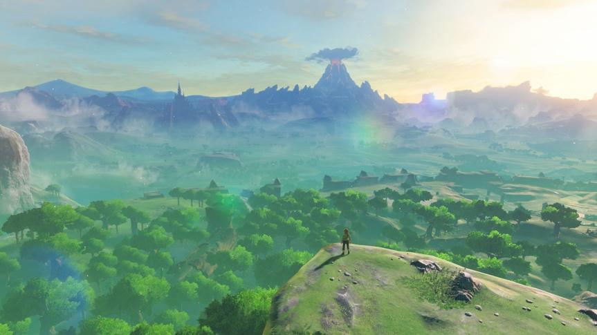Zelda: Breath Of The Wild Switch hands-onpreview