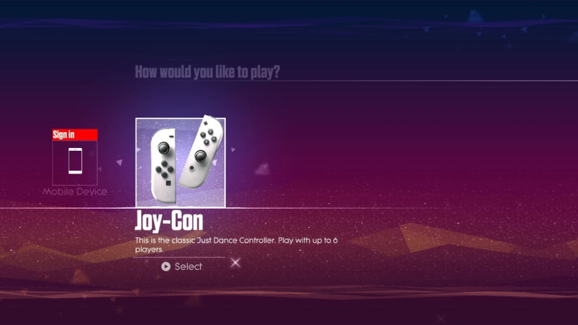 """Just to prove it's the Switch version. Bet you didn't know that all these years you haven't been playing Just Dance with """"the classic Just Dance controller"""""""